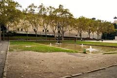 EL TREBALL (1961), d'EUDALD SERRA I GELL (Yeagov C) Tags: 1961 2016 barcelona catalunya eltreball eudaldserraigell montjuc monument monumenteltreball plaacarlesbugas plaadecarlesbugas
