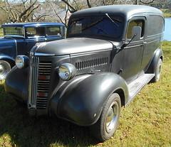 1937 GMC Panel (splattergraphics) Tags: 1937 gmc panel delivery van custom carshow rustynutz jalopyrama carrollcountyagriculturalcenter westminstermd