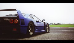 Ferrari F40 (Thomas_982) Tags: cars ferrari f40 blue italy silverstone uk gt5 gt6 classic ps3 gran turismo game