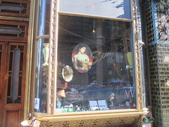 Skeleton in Coffin Halloween window display 7261 (Brechtbug) Tags: skeleton coffin window display lillies restaurant bar west 49th near 8th avenue coffins skeletons pumpkin displays new york city 2016 nyc halloween jack o lantern jackolantern pumpkins plastic holiday windows 10242016 orange lillie langtry victorian