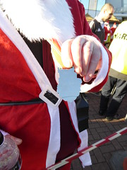 Trinity Santa Dash 4th December 2016 (opalpics) Tags: trinitysantadash trinity santa charity dash saunter blackpool tower promenade sea lancashire collection fatherchristmas walk run pier centralpier southpier