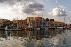 Chania_04_17102016-1036 (john houv) Tags: chania crete mediterranean oldharbour oldharbor lighthouse reflection