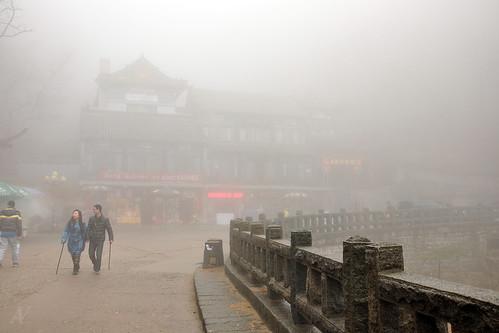 Descending Mount Taishan