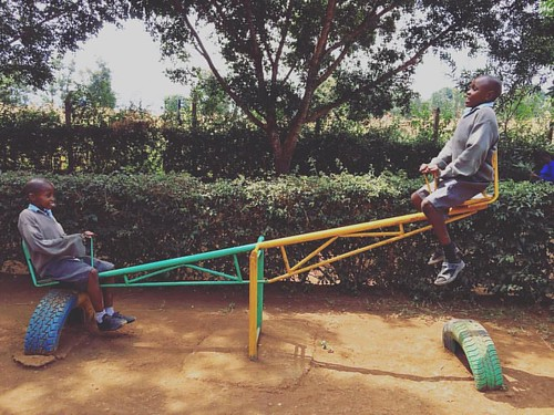 "Everyone needs a little play time!  Eriki and Bahati love theirs!! #playisachildswork #schooldays #sponsorachild • <a style=""font-size:0.8em;"" href=""http://www.flickr.com/photos/59879797@N06/30839400086/"" target=""_blank"">View on Flickr</a>"