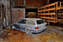 bmw serie 3 (riccardo nassisi) Tags: auto abbandonata abandoned car wreck rust rusty relitto rottame ruggine ruins epave fiat 128 fornace pavia relitti rottami abbandono