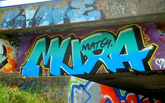 Graffiti Maassluis (oerendhard1) Tags: graffiti streetart urban art rotterdam maassluis mat64 mira