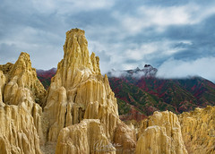Golden Castles... (Almodovar Photography) Tags: golden castles bolivia valledelaluna potosi lapaz landscapes mountains altura high nature naturelovers wow