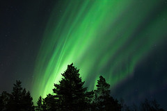 Aurora borealis - Aurores borales ( Mathieu Pierre photography) Tags: aurora borealis aurores borales finland north arctic circle finnish lapland northern lights canon eos 7d