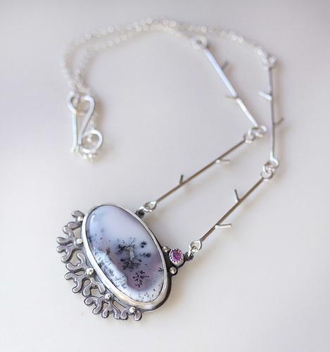 Mistletoe necklace ~