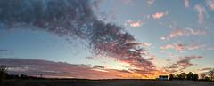 Big Sky Country (tquist24) Tags: goshen hdr indiana nikon nikond5300 barn clouds evening farm panorama panoramic rural sky sunset