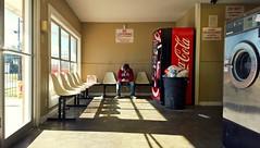 Sunday Morning in the Laundromat (Studio d'Xavier) Tags: sundaymorningnthelaundromat laundromat edwardhopper hopperesque laundrymat washateria