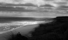 B&W  Oceanscape (Neil DeMaster) Tags: massachusetts seascape oceanscape blackandwhiteseascape blackandwhiteoceanscape atlantic atlanticocean capecod nature