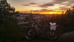 Lexbybergen sunset Haibike (Zarako) Tags: haibike lexbybergen bicycle bicycling dusk mountain sky sunset
