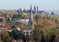 View from Parliament Hill (Dun.can) Tags: autumn trees hampsteadheath parliamenthill stannes church whittingtonhospital archway hampstead nw3 stanneshighgate n6 archwaycampus