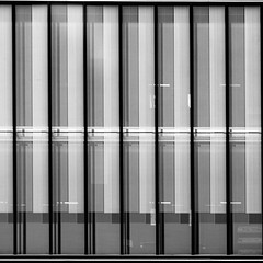 facade (morbs06) Tags: barcelona catalunya abstract architecture building bw city cladding facade glazing light lines office pattern reflections repetition shadow square streets stripes urban windows