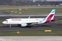 D-AEWA (dabianco87) Tags: aeroplano aircraft aerei plane dusseldorf dus airbus a320 eurowings daewa