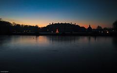 Dmmerung am Schlo (fredy_egdorf) Tags: 2016 schlos nordkirchen huawei p9 leica lens lightroom photoshop luminazmaske landschaft landscape blaue stunde