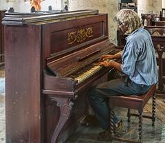Piano, St. John's Church, Kolkata, India (bfryxell) Tags: calcutta india kolkata piano stjohnschurch westbengal