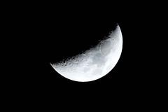 Today's Moon :   (Colorful-wind) Tags:  autumn color nature moon 2016 fujifilm air moonlight  xt1 fukuoka sky    japan lightandshadow