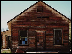 Vulture City Schoolhouse (~ Lone Wadi Archives ~) Tags: vulturecity vulturemine schoolhouse abandoned oldwest decrepit derelict americansouthwest decaying lonesome lonely wickenburgarizona