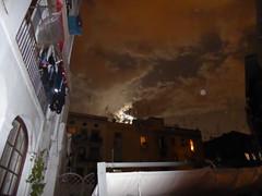 Full moon over Barcelona_1 (ashabot) Tags: barcelona city moon night spain cities fullmoon lightanddark