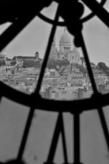 Sacre Coeur from Orsay Museum (benito.anon) Tags: blackandwhite bw paris france blancoynegro nikon sacrecoeur bn museo orsay sagradocorazn orsaymuseum romanticparis parisromantico nikond5200