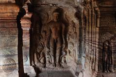 Badami cave interior (KeithDM) Tags: india rock stone temple carving karnataka badami chalukya