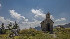 A Chapel On The Hill (Igor Letilovic) Tags: mountains nature canon landscape religion croatia na priroda hrvatska brdo brda 600d velebit kapelica planine pejzaz vrhu zavezan reigija