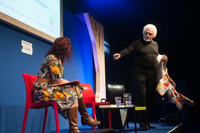 Ronnie Browne speaks to chair Nicola Meighan