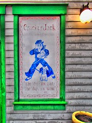 Placard, Cracker Jack, Old Town, Kissimme, Florida, USA (My travels through East Coast and the Caribbean) Tags: usa florida crackerjack oldtown hdr placard kissimme dynamicphotohdr ronaldbellorin