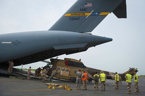 U.S. Army Africa teams with U.S. Air Force and French Army