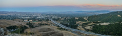 memorial highway divide (pbo31) Tags: california sunset summer panorama dublin color green evening nikon highway view traffic over bart large august panoramic hills vista eastbay stitched alamedacounty 580 2015 lightstream boury pbo31 d810 dublinhillsregionalpark