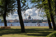 View of Saint Petersburg (xiuzhu88) Tags: travel saint paul cathedral russia isaac petersburg peter fortress