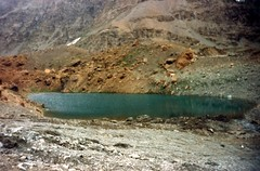 #SurajTal #Lake in #Lahaul #Himachal is a high altitude lake & source of #river #Bhaga which merges with #Chandra at #Tandi to become the mighty #Chenab. #photooftheday #incredibleindia  This photo was taken 26 years back! (Anil.Yadav1) Tags: lake river himachal chandra photooftheday chenab tandi incredibleindia lahaul bhaga surajtal