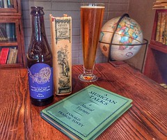 Books and  brew... (tobyhume) Tags: music english beer francis globe edinburgh university king tales head earth library gothic first donald seven brewery oxford reid critic professor press sir edition brew isak dogfish midas bibliophile criticism dinesen tovey putum