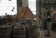 Milwaukee Blacksmith USA (MalaneyStuff) Tags: wisconsin milwaukee blacksmith doorsopen doorsopenmke2015