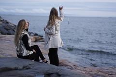 (leonaeevaolivia) Tags: girls sea finland helsinki