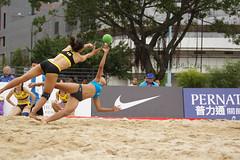 DSC03958 (rickytanghkg) Tags: beach hongkong championship women sony international match handball taipo a550 sonya550