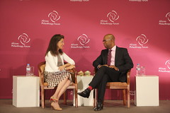 Jane Wales, Bob Collymore
