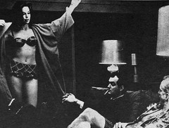 Tracy Reed, Stanley Kubrick and George C. Scott behind the scenes of Doctor Strangelove (1964) (Tom Simpson) Tags: vintage boobs lingerie scifi sciencefiction flashing behindthescenes stanleykubrick 1964 georgecscott tracyreed doctorstrangelove