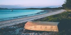 Taylors Beach (dean.white) Tags: australia au newsouthwales nsw portstephens taylorsbeach beach bay sand boat dingy canoneos6d yacht coastline canonef1740mmf4l