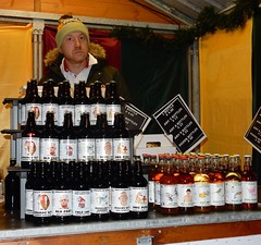 Manchester Markets... Rude Beer (deltrems) Tags: manchester christmas market rude beer bottles bottled man