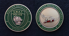 City of Appleton Police SWAT Challenge Coin (Nate_892) Tags: wisconsin coin police special patch wi challenge tactics swat weapons appleton