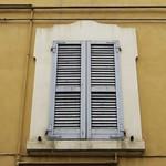 Les fenêtres de Modène, Emilie-Romagne, Italie. thumbnail