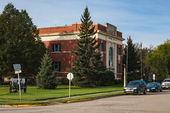 Memorial Hall (bryanscott) Tags: ca canada building architecture manitoba carman
