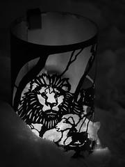 Luminaire (jcurtis4082) Tags: blackandwhite bw ut lion olympus saltlakecity lamb 60mm templesquare lumin luminaire em1