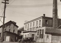 Portage Hosiery Mills Exterior, c 1930s