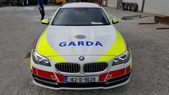 Garda Regional Support Unit New 162 BMW 530s currently been kitted out   Credit highvisibility.ie (Garda Fleet) Tags: armedgarda rsu arvs gardai gardacars