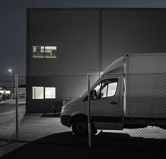 Warehouse (Sindre Ellingsen -sindreellingsen.com-) Tags: night shot warehouse haugesund norway rogaland industrial area van noir