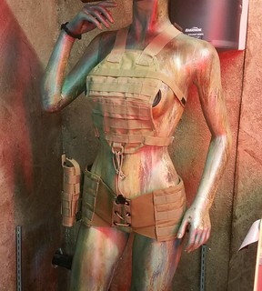 Tacticle The World. JDANGER now making women's combat lingerie. Ha!